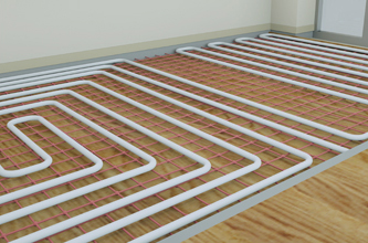 Hot Water Floor Heating System